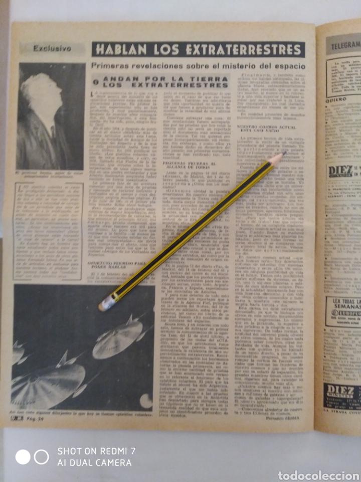 Coleccionismo de Revista Diez Minutos: Revista Diez minutos num.730, Ursula Andress, Rita Pavone,hablan las extraterrestres - Foto 5 - 288538988