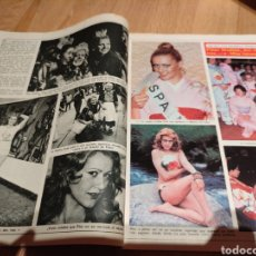 Coleccionismo de Revista Diez Minutos: PILAR MEDINA AZAFATA UN, DOS, TRES MISS INTERNACIONAL REPORTAJE DE DIEZ MINUTOS. Lote 289014858