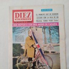 "Coleccionismo de Revista Diez Minutos: REVISTA DIEZ MINUTOS NUM.744, SOFÍA LOREN,""MISS MUNDO 65"", JERRY LEWIS. Lote 289423228"