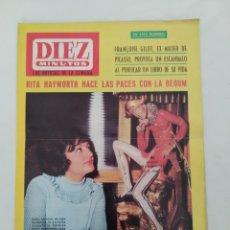 """Coleccionismo de Revista Diez Minutos: REVISTA DIEZ MINUTOS NUM.747,""""VIVIR CON PICASSO"""",CHINCHON,RIVALES EN MÚSICA INGLATERRA. Lote 289456818"""