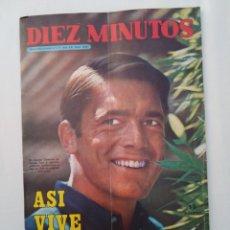 """Coleccionismo de Revista Diez Minutos: REVISTA DIEZ MINUTOS NUM.1019, CHARLES BRONSON, FAMOSAS EN LA """"BOITE"""",ENCARNITO POLO. Lote 289814638"""