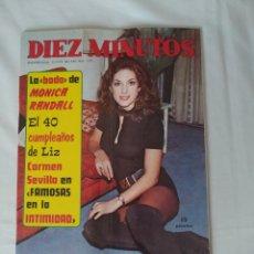 Coleccionismo de Revista Diez Minutos: REVISTA DIEZ MINUTOS NUM.1072, GEORGE HARRISON,LISA NARDI, VÍCTOR MANUEL,ROMAN POLANSKI. Lote 289858123
