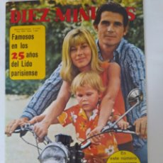 Coleccionismo de Revista Diez Minutos: REVISTA DIEZ MINUTOS NUM.1063,JAMES BROLIN,PILI BAYONA,NURIA ESPERT,ROSSANA YANNI. Lote 289860748