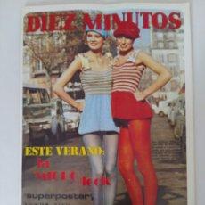 Coleccionismo de Revista Diez Minutos: REVISTA DIEZ MINUTOS NUM.1068,IRENE MIR, FRANCO NERO,ROSA MORENA,JANE BIRKIN. Lote 289862398