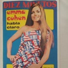 Coleccionismo de Revista Diez Minutos: REVISTA DIEZ MINUTOS NUM.1067,EMMA COHEN, VICENTE PARRA,NINO BRAVO,VIRNA LISI. Lote 289863528
