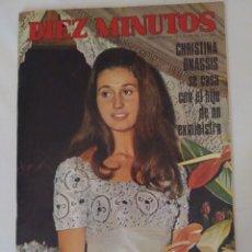 "Coleccionismo de Revista Diez Minutos: REVISTA DIEZ MINUTOS NUM.924, CONCURSO ""LADY ESPAÑA 69""GEORGIE DANN,THE DOORS. Lote 289869098"