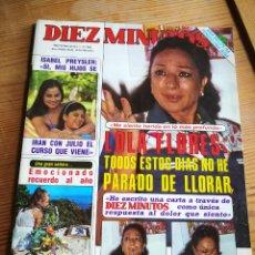 Coleccionismo de Revista Diez Minutos: REVISTA DIEZ MINUTOS- PORTADA LOLA FLORES, N°1675, 1983.. Lote 291486713