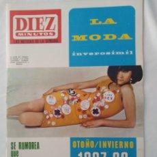 Coleccionismo de Revista Diez Minutos: REVISTA DIEZ MINUTOS NUM.840, BRIAN EPSTEIN,PACO RABBANE,CELIA GAMEZ,SANDIE SHAW. Lote 293343323