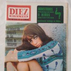 Coleccionismo de Revista Diez Minutos: REVISTA DIEZ MINUTOS NUM.842, MARLON BRANDO, CLAUDIA GRAVY, DIANA LORYS,HA MUERTO YUSAPOF. Lote 293346893