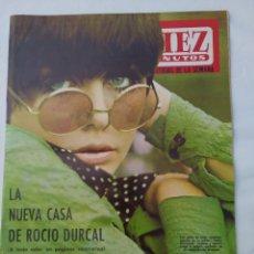 """Coleccionismo de Revista Diez Minutos: REVISTA DIEZ MINUTOS NUM.848,""""MISS ESPAÑA"""",""""MISS MUNDO"""",LUIS GARCÍA BERLANGA,""""EL SANTO"""" EN BARCELONA. Lote 293361723"""