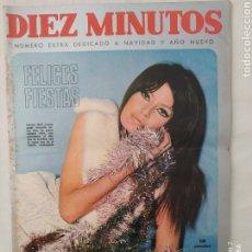 """Coleccionismo de Revista Diez Minutos: REVISTA DIEZ MINUTOS NUM.852, MUJERES,BEBES DE AÑO 67,MARISOL, EXPOSICIÓN """"POSTERS"""" EN BARCELONA. Lote 293367773"""