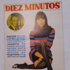 "Collezionismo di Rivista Diez Minutos: REVISTA DIEZ MINUTOS NUM.866, BOUTIQUE ""LUI"", ARTE DE MASAS, MARISOL GONZÁLEZ. Lote 293642528"