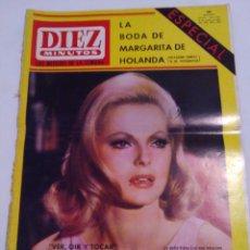 Collezionismo di Rivista Diez Minutos: REVISTA DIEZ MINUTOS NUM.804,VIRNA LISI,JEANNE MOREAU, MARGARITA DE HOLANDA. Lote 293643768