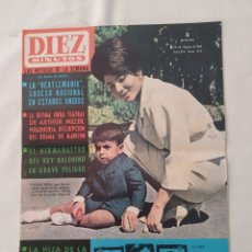 Collezionismo di Rivista Diez Minutos: REVISTA DIEZ MINUTOS NUM.653, BEATLES,JANE FONDA,FERMIN MURILLO. Lote 295439863