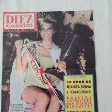 "Colecionismo da Revista Diez Minutos: REVISTA DIEZ MINUTOS NUM.670,""MISS EUROPA""""MISSES"" EN LIBANO,""CARACOLILLO"". Lote 295456913"