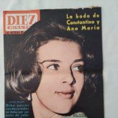 Collezionismo di Rivista Diez Minutos: REVISTA DIEZ MINUTOS NUM.682, BEATLES, RICHARD HARRIS,DALIDA. Lote 295459893