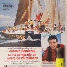 Coleccionismo de Revista Diez Minutos: REPORTAJE DE ANTONIO BANDERAS 09.05.97. Lote 296018903
