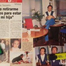 Coleccionismo de Revista Diez Minutos: REPORTAJE DE PEPE NAVARRO 09.08.97. Lote 296022308