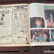 Coleccionismo de Revista Diez Minutos: DIEZ MINUTOS / INGER NILSSON, ROSA MORENA, LEE MAJORS, MARISOL Y GADES, SOPHIA LOREN, SYDNE ROME. Lote 296719278