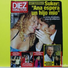 Coleccionismo de Revista Diez Minutos: DIEZ MINUTOS NÚM. 2509 - ANA OBREGÓN ROCÍO CARRASCO ANA BELÉN - 1999. Lote 297090648