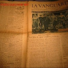 Coleccionismo de Revista El Jueves: DIARIO LA VANGUARDIA AÑO 1940 -26 DE SEPTIEMBRE DE 1940 - EL MINISTRO DE GOBERCACION EN BERLIN. Lote 22163615