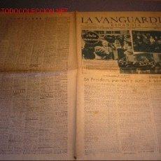 Coleccionismo de Revista El Jueves: DIARIO LA VANGUARDIA AÑO 1940 -19 DE SEPTIEMBRE DE 1940 - EL CAUDILLO EN GUIPUZCOA. Lote 21720696
