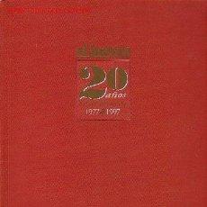 Coleccionismo de Revista El Jueves: LIBRO 'EL JUEVES 20 AÑOS DE PORTADAS 1977-1997'. 1044 PORTADAS. . Lote 24825977