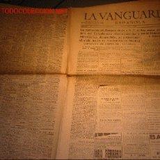 Coleccionismo de Revista El Jueves: DIARIO LA VANGUARDIA AÑO 1939. Lote 20344242