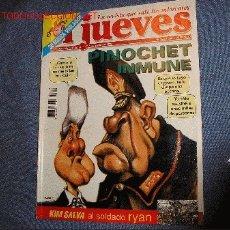 Coleccionismo de Revista El Jueves: EL JUEVES - Nº 1120. PINOCHET CLINTON. Lote 17166223