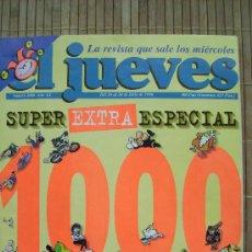 Coleccionismo de Revista El Jueves: REVISTA EL JUEVES ESPECIAL Nº 1000 AÑO XX 24-30 JULIO 1996. Lote 26492664