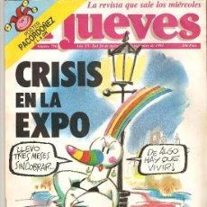 Coleccionismo de Revista El Jueves: JUEVES - LA REVISTA QUE SALE LOS MIERCOLES. Lote 20302935