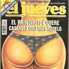 Coleccionismo de Revista El Jueves: JUEVES - LA REVISTA QUE SALE LOS MIERCOLES. Lote 24888341