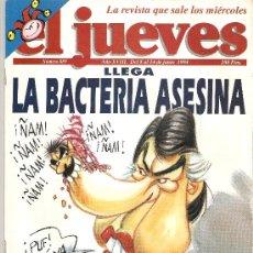 Coleccionismo de Revista El Jueves: JUEVES - LA REVISTA QUE SALE LOS MIERCOLES. Lote 22735420