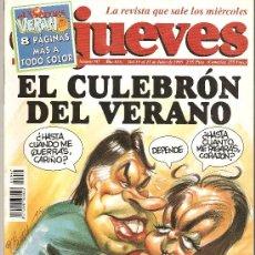 Coleccionismo de Revista El Jueves: JUEVES - LA REVISTA QUE SALE LOS MIERCOLES. Lote 22770302