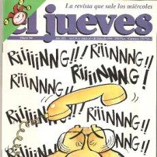 Coleccionismo de Revista El Jueves: JUEVES - LA REVISTA QUE SALE LOS MIERCOLES. Lote 23894250