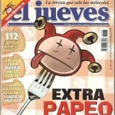 Coleccionismo de Revista El Jueves: JUEVES - LA REVISTA QUE SALE LOS MIÉRCOLES. Lote 23919824