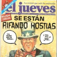 Coleccionismo de Revista El Jueves: JUEVES - LA REVISTA QUE SALE LOS MIÉRCOLES. Lote 22770314