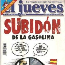 Coleccionismo de Revista El Jueves: JUEVES - LA REVISTA QUE SALE LOS MIÉRCOLES. Lote 22915644