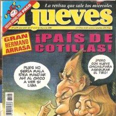 Coleccionismo de Revista El Jueves: JUEVES - LA REVISTA QUE SALE LOS MIÉRCOLES. Lote 24044683