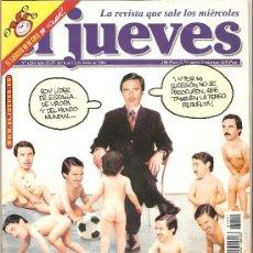 Coleccionismo de Revista El Jueves: JUEVES - LA REVISTA QUE SALE LOS MIÉRCOLES. Lote 22915639
