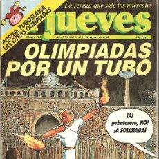 Coleccionismo de Revista El Jueves: JUEVES - LA REVISTA QUE SALE LOS MIÉRCOLES. Lote 22915650