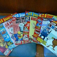 Coleccionismo de Revista El Jueves: JUEVES - LA REVISTA QUE SALE LOS MIERCOLES 6 REVISTAS. Lote 26538871