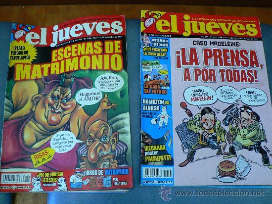 Coleccionismo de Revista El Jueves: JUEVES - LA REVISTA QUE SALE LOS MIERCOLES 6 revistas - Foto 2 - 26538871