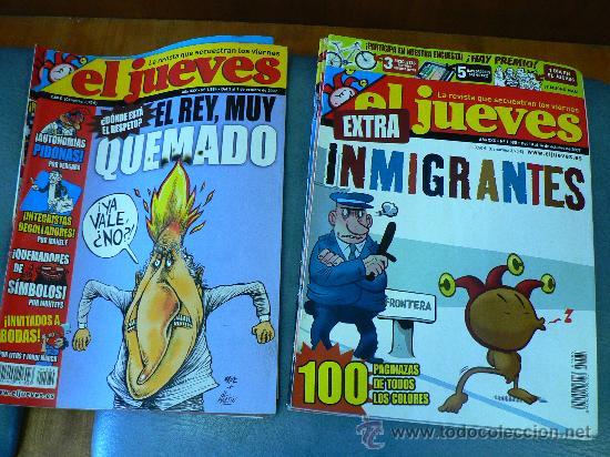 Coleccionismo de Revista El Jueves: JUEVES - LA REVISTA QUE SALE LOS MIERCOLES 6 revistas - Foto 4 - 26538871