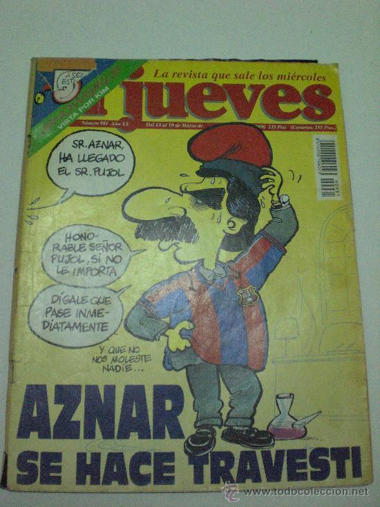 REVISTA EL JUEVES - MARZO 1996 (Coleccionismo - Revistas y Periódicos Modernos (a partir de 1.940) - Revista El Jueves)