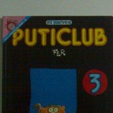 Coleccionismo de Revista El Jueves: EL JUEVES PUTI CLUB 3 PENDONES DEL HUMOR 91. Lote 26544085