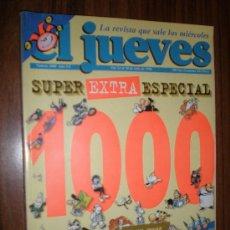 Coleccionismo de Revista El Jueves: REVISTA EL JUEVES SUPER EXTRA ESPECIAL NUMERO 1000 24 AL 30 DE JULIO DE 1996. Lote 16280888