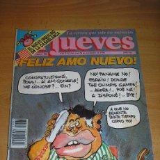Coleccionismo de Revista El Jueves: EL JUEVES-Nº 806-FELIZ AMO NUEVO. Lote 17372735