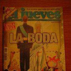 Coleccionismo de Revista El Jueves: REVISTA EL JUEVES -Nº1408 AÑO XXVII DEL 19 AL 25 MAYO 2004. Lote 17629788