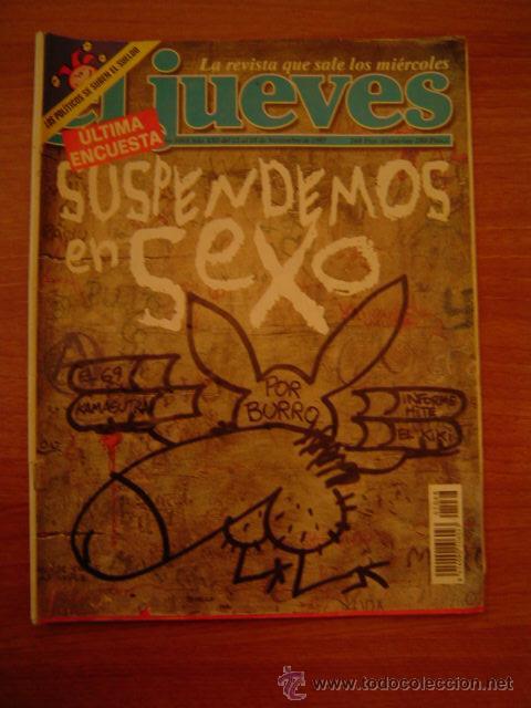 REVISTA EL JUEVES -Nº1068 AÑO XXI DEL 12 AL 18 DE NOVIEMBRE 1997 CONTIENE POSTER (Coleccionismo - Revistas y Periódicos Modernos (a partir de 1.940) - Revista El Jueves)